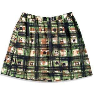 Lane Bryant Skirt Geometric Lines A Line Career